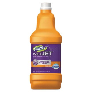 Swiffer WetJet System Cleaning-Solution Refill with Scent of Dawn 1.25L Bottle 6/Carton