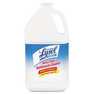 Professional LYSOL Brand Disinfectant Heavy-Duty Bath Cleaner Lime 1gal