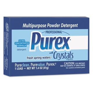 Purex ULettera Concentrated Powder Detergent 1.4-ounce Box Vend Pack 156/Carton