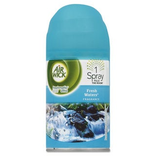 Air Wick Freshmatic ULettera Automatic Spray Refill Fresh Waters Aerosol 6.17 -ounce 6/Carton