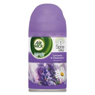 Air Wick Freshmatic ULettera Automatic Spray Refill Lavender/Chamomile,Aerosol,6.17 -ounce,6/Carton