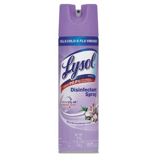 LYSOL Brand Disinfectant Spray Early Morning Breeze Scent 19-ounce Aerosol