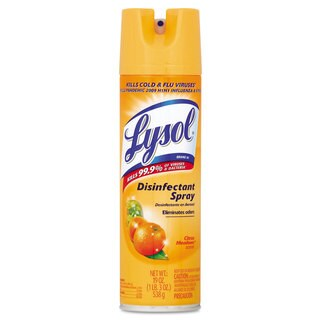 LYSOL Brand Disinfectant Spray Citrus Meadow Scent 19-ounce Aerosol