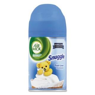 Air Wick Freshmatic Ultra Spray Refill Snuggle Fresh Linen Aerosol 6.17 oz 6/Carton