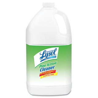 Professional LYSOL Brand Disinfectant Pine Action Cleaner 1gal Bottle