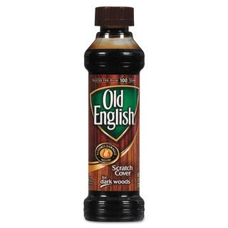 OLD ENGLISH Furniture Scratch Cover For Dark Woods 8-ounce Bottle