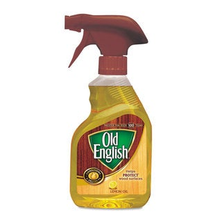 OLD ENGLISH Furniture Polish Lemon 12-ounce Spray Bottle 6/Carton