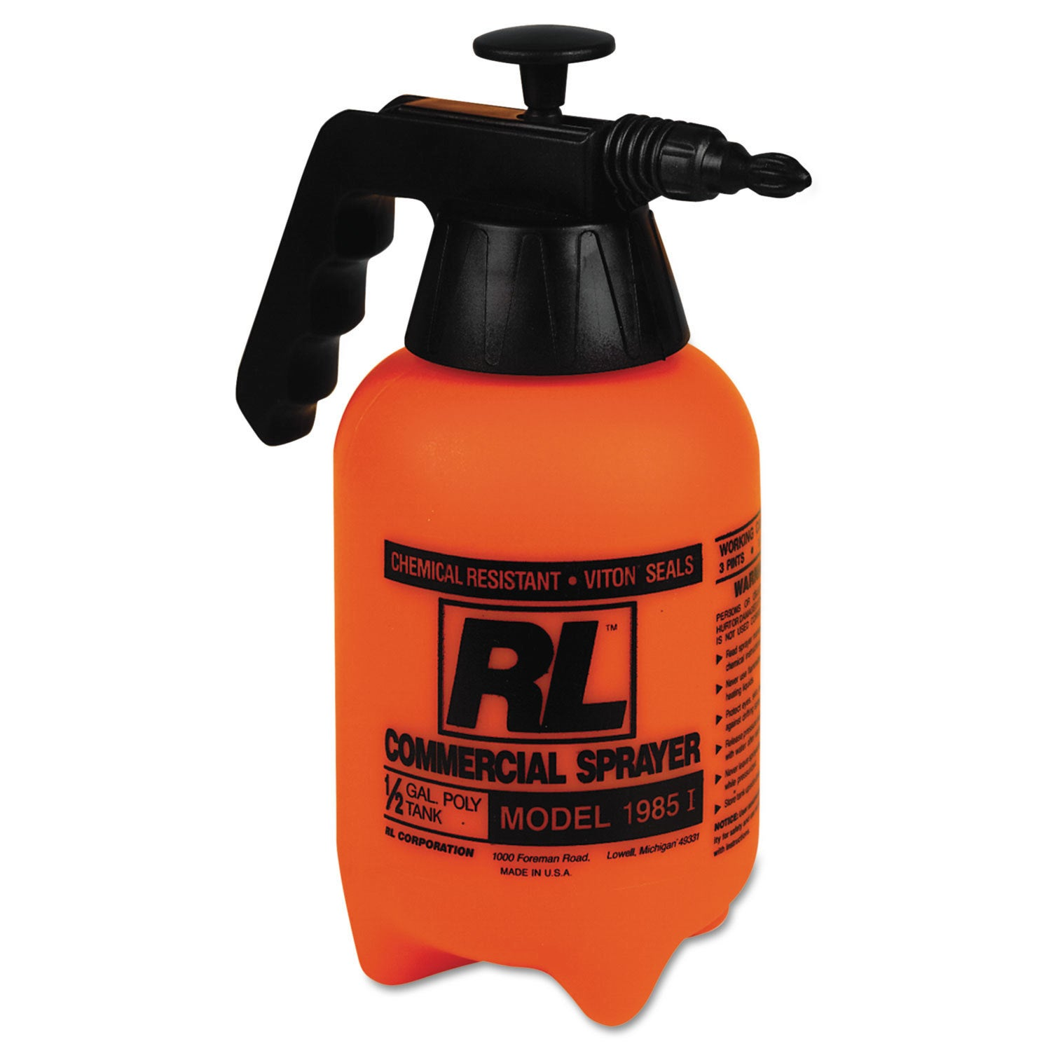 RL Flowmaster Hand Sprayer with Adjustable Nozzle Polyeth...
