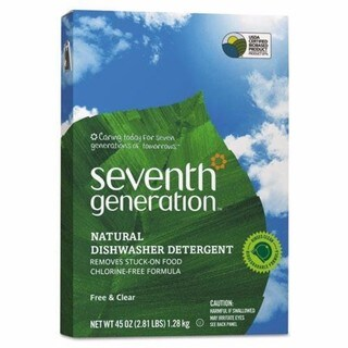 Seventh Generation Natural Automatic Dishwasher Powder Free & Clear 45-ounce Box 12/Carton