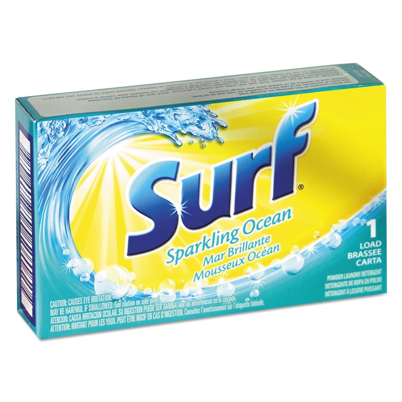 Surf Blue) Powder Detergent Packs 1 load Vending Machines...