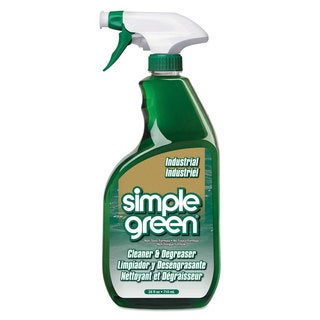 Simple Green Industrial Cleaner & Degreaser Concentrated 24-ounce Bottle 12/Carton