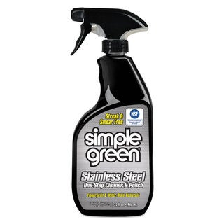 Simple Green Stainless Steel One-Step Cleaner & Polish 32-ounce Spray Bottle