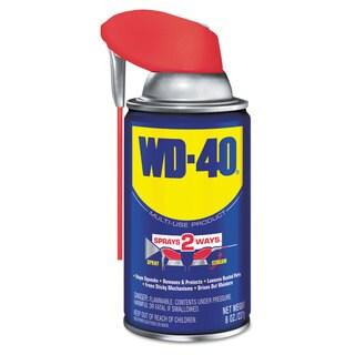 WD-40 Smart Straw Spray Lubricant 8-ounce Aerosol Can 12/Carton