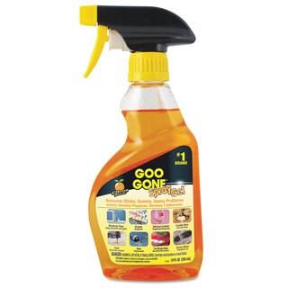 Goo Gone Spray Gel Cleaner Citrus Scent 12-ounce Spray Bottle 6/Carton