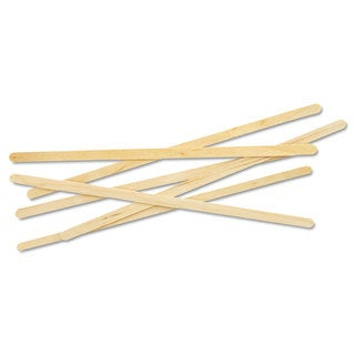 Eco-Products Renewable Wooden Stir Sticks- 7-inch 1000/Pack 10 Pack/Carton