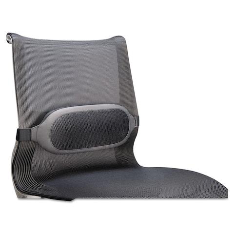 Fellowes I-Spire Series Lumbar Cushion, 14 x 3 x 6, Gray
