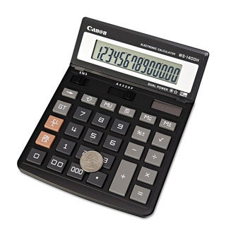 Canon WS1400H Display Calculator 14-Digit LCD