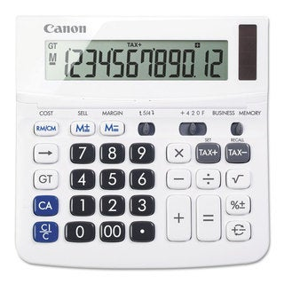 Canon TX-220TSII Portable Display Calculator 12-Digit LCD