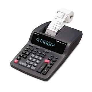 Casio FR-2650TM Two-Color Printing Desktop Calculator Black/Red Print 3.5 Lines/Sec