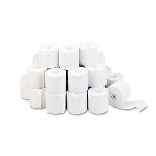 Universal Adding Machine/Calculator Roll 16 -pound 1/2 inches Core 2-1/4 inches x 130 ft White 100/Carton