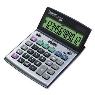Canon BS-1200TS Desktop Calculator 12-Digit LCD Display