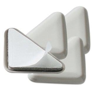 Master Caster Cabinet Floor Savers 4 1/2 x 3 1/2 x 5/8 Beige 4 per Pack