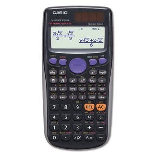 Casio FX-300ESPLUS Scientific Calculator 10-Digit Natural Textbook Display LCD