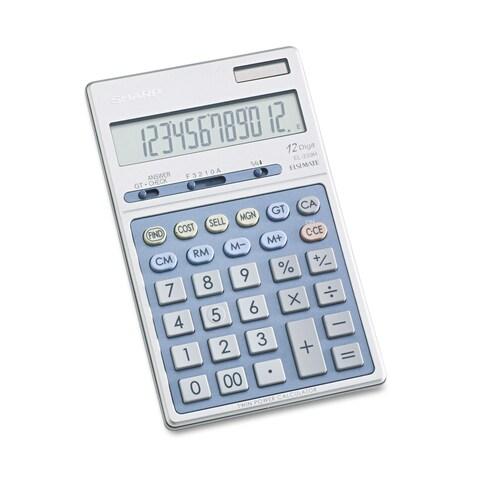 Sharp EL339HB Executive Portable Desktop/Handheld Calculator 12-Digit LCD
