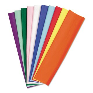 Pacon Kolorfast Tissue Assortment 10-pound 20 x 30 10 Assorted Colors 100 Sheets