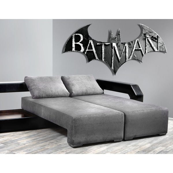 Full color Batman superhero sticker, Decal Brick wall, wall art decal Sticker Decal size 22x30