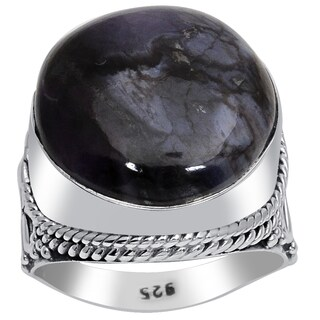 Orchid Jewelry 925 Sterling Silver 16 Carat Sugilite Ring
