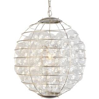 Y-Decor ThomasBlack Metal 1-light Multiple Globe Chandelier