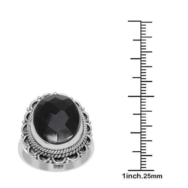 1 Onyx 16x12 mm Oval 8,0Ct.