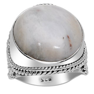 Orchid Jewelry 925 Sterling Silver 16 Carat Jasper Fashion Ring