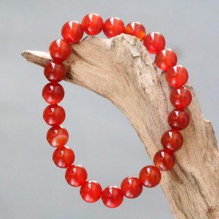 Handmade Carnelian 'Sunrise Beads' Bracelet (Indonesia)