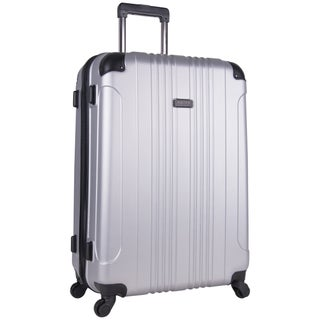 Kenneth Cole Reaction Out of Bounds 28-inch Molded Hardside 4-Wheel Spinner Checked Suitcase