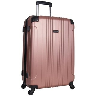 Kenneth Cole Reaction Out of Bounds 28-inch Molded Hardside 4-Wheel Spinner Checked Suitcase (More options available)