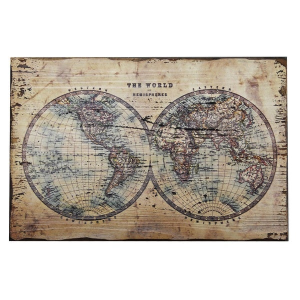 Mercator world map wall plaque free shipping on orders over 45 mercator world map wall plaque sciox Choice Image