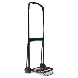 Kantek Ultra-Lite Folding Cart 150-pound Capacity 9 3/4 x 11 Platform Black