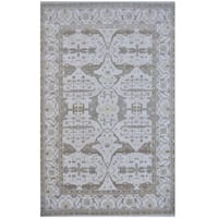 Herat Oriental Indo Hand-knotted Tribal Oushak Wool Rug (12'3 x 17'7)