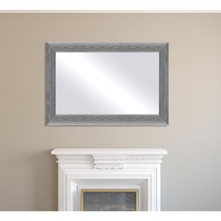 Framed Mirror - Silver