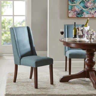 Madison Park Victor Blue Wing Dining Chair (Set of 2)