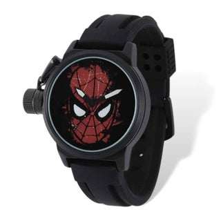 Marvel Stainless Steel Men's Spiderman Left Hand Watch