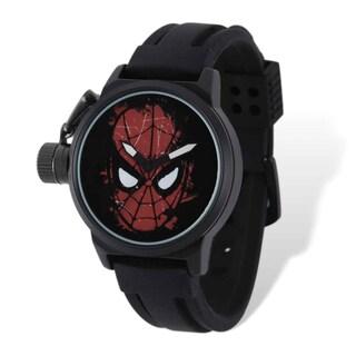 Marvel Stainless Steel Men's Spiderman Left Hand Watch