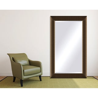Framed Beveled Mirror - Light Bronze
