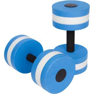 Trademark Innovations EVA Foam Water Aerobic Exercise Dumbells (Set of 2)|https://ak1.ostkcdn.com/images/products/13925585/P20558590.jpg?impolicy=medium