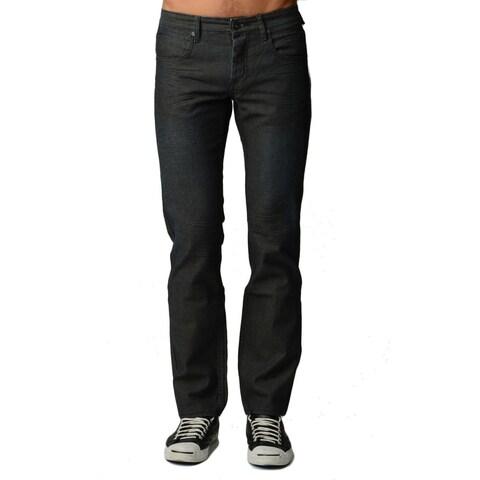 Dinamit Men's Black 5-pocket Classic-fit Jeans