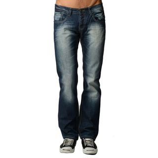 Dinamit Men's Dark Blue Denim 5-pocket Jeans