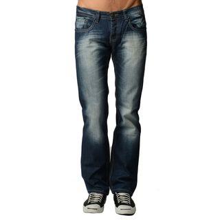 Dinamit Men's Dark Blue Denim 5-pocket Jeans