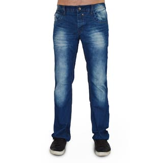Dinamit Men's Five Pocket Blue Denim Classic Jeans|https://ak1.ostkcdn.com/images/products/13925630/P20558565.jpg?impolicy=medium